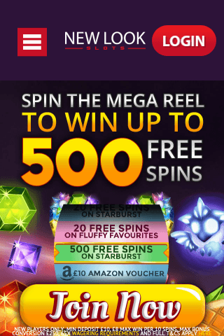 Newlook Slots Mobile Image