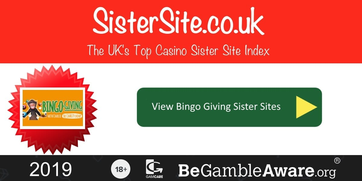 Bingo Giving Sister Sites